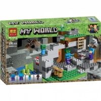 Конструктор Лего 10810  MY WORLD 250 дет