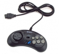 Джойстик Sega Controller Turbo Black