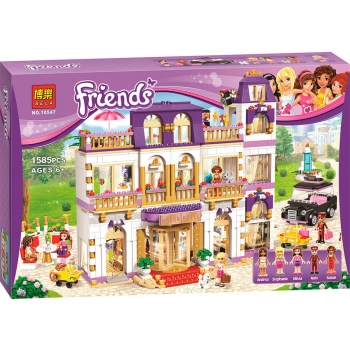 Конструктор Лего Lego Bela Friends 10547 Гранд-отель, 1585 деталей