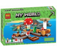КОНСТРУКТОР Лего 10619  MY WORLD 253 ДЕТ