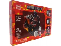"Конструктор Лего 121106,QUAN GUAN Minecraft Micro World The Nether ""Микромир: Пустота"" 469 деталей"
