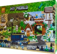 Акция. Конструктор Лего 33173 MY WORLD 1080 дет
