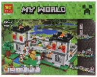 Конструктор Лего 10472 My World Крепость 990 дет.