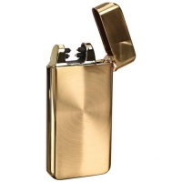 Зажигалка USB две дуги Lighter Classic Fashionable